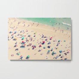 beach summer in love Metal Print