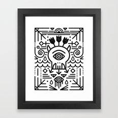 Monster Killer Cult Framed Art Print