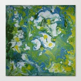 Swirls and Swirls Canvas Print