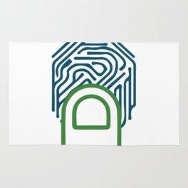 Finger Print Rug