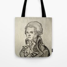 French Sketch I Tote Bag