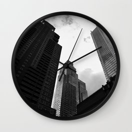 Building or Robot? Wall Clock