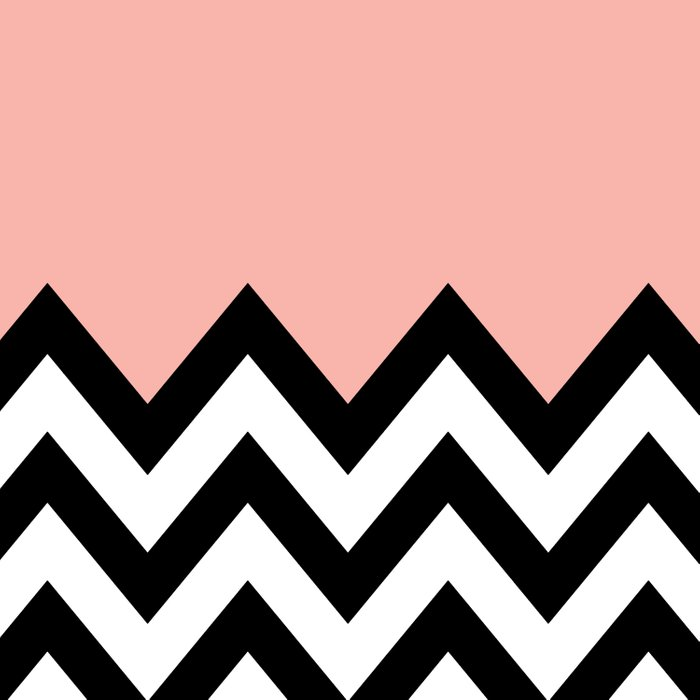 CORA COLORBLOCK CHEVRON  Duvet Cover