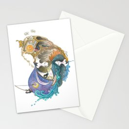 Love Story That Repeats Itself Throughout Time Stationery Cards