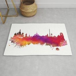 Moscow skyline Rug