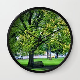A Little Town Square, Melbourne Wall Clock