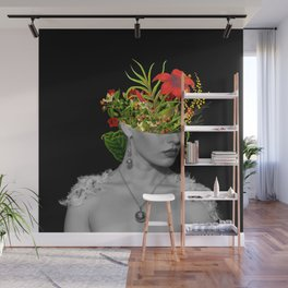 Flower Head Wall Mural