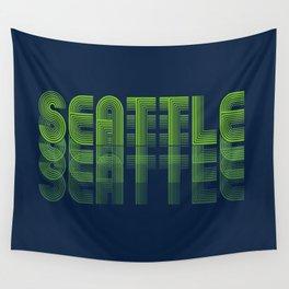 Seasons K Designs Seattle Fade Wall Tapestry