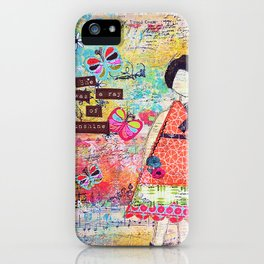 'She was a Ray of Sunshine' by Jolene Ejmont iPhone Case