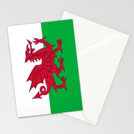National flag of Wales - Authentic version Stationery Cards