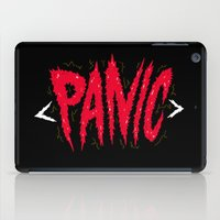 panic at the disco iPad Cases featuring PANIC by Chris Piascik