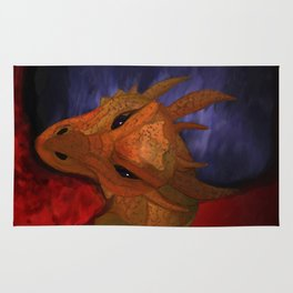 Dragon in the Misty Mountain Rug