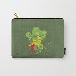 Grunge cat cowboy Carry-All Pouch