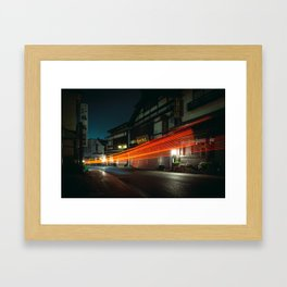 Narita at Night Framed Art Print