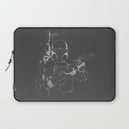 Boba Fett - Lines Laptop Sleeve