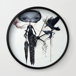 gothic kebaya Wall Clock