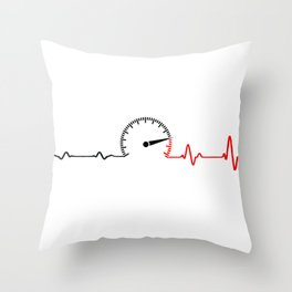 Speed. Racing enthusiast gifts Throw Pillow
