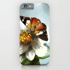 Butterfly on flower 12 Slim Case iPhone 6s