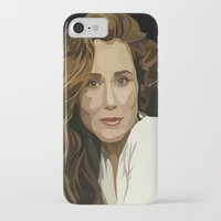 battlestar iPhone & iPod Cases featuring Red Haired Beauty by Grace Teaney Art
