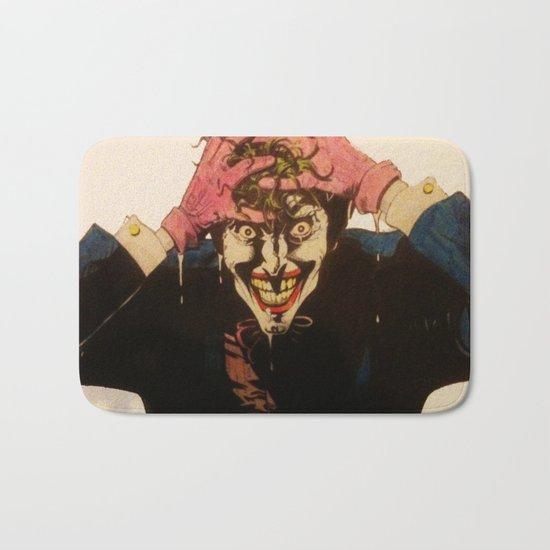 Joker HAHAHA Bath Mat