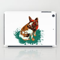 pitbull iPad Cases featuring PITBULL by Guille Pachelo