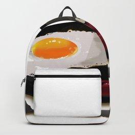 Hotsilog (hotdog, egg, fried rice) -filipino food Backpack