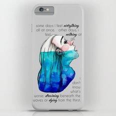 Drowning in Depression (2016) REVAMP Slim Case iPhone 6s Plus