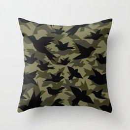 Bird Camouflage 4 Throw Pillow