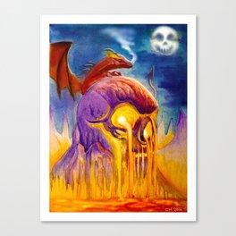 A Night On Skull Mountain Canvas Print
