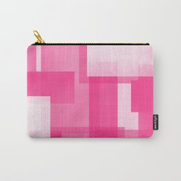 Modern Abstract No. 23 | Fucshia Carry-All Pouch