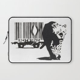 Banksy Animal Rights Artwork, Jaguar Tiger Barcode Prints, Posters, Bags, Tshirts, Men, Women, Youth Laptop Sleeve