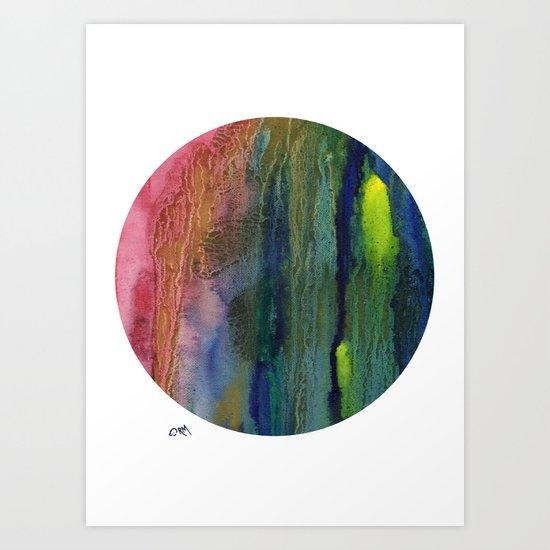 Lunation Art Print