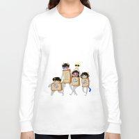 homestuck Long Sleeve T-shirts featuring Homestuck: The Boxtrolls by Techno Cide