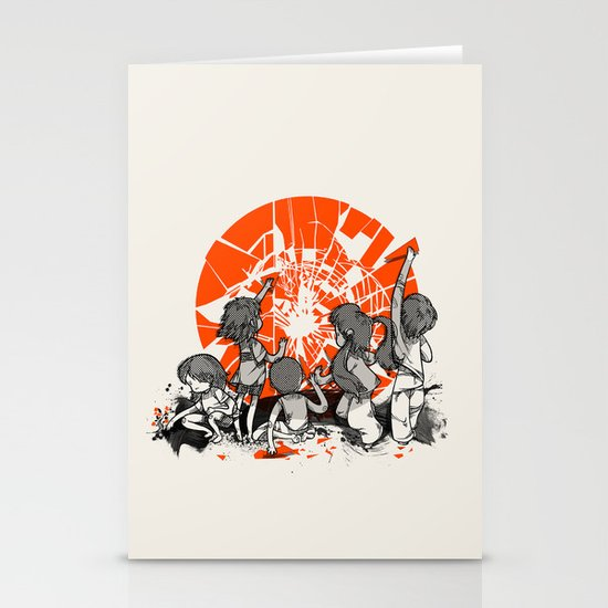 We'll help you rise again Stationery Cards