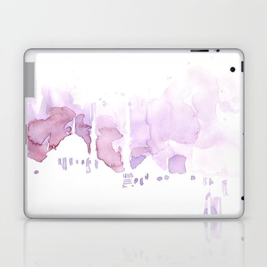 Watercolor landscape illustration_Istanbul Laptop & iPad Skin