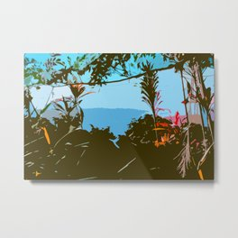 Hawaiian Foliage Metal Print