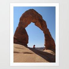 Framed - Delicate Arch Art Print
