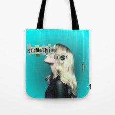 Frau auf blauem Grund 4 Tote Bag