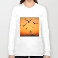 freedom Long Sleeve T-shirts featuring Freedom by Cs025