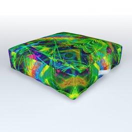 Techno Electric I Outdoor Floor Cushion