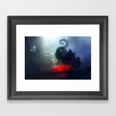 Faithful Mirror Framed Art Print