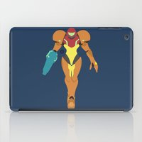 samus iPad Cases featuring Samus(Smash) by ejgomez