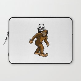 Gone Squatchin with Panda Laptop Sleeve