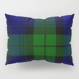 Scottish Campbell Tartan Pattern-Black Watch #2 Pillow Sham