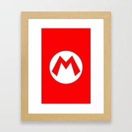 Nintendo Mario Framed Art Print