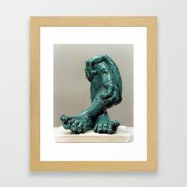 Green Organs by Shimon Drory Framed Art Print