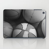 basketball iPad Cases featuring Basketball by Sary and Saff