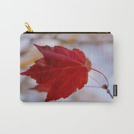 Last of the Leaves Autumn Foliage / Botanical / Nature Photograph Carry-All Pouch