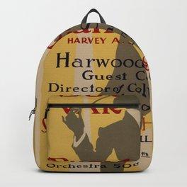 Vintage poster - Southside Varsity Band Concert Backpack
