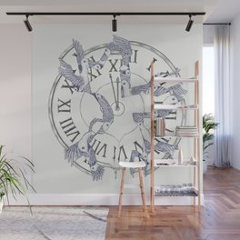 Existence with Time (Time Travelers) Wall Mural